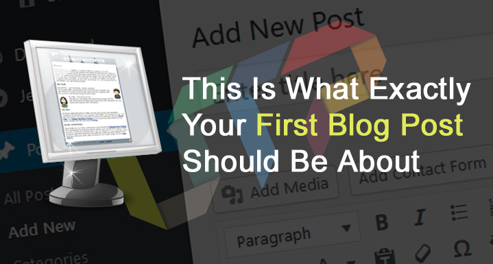 What First Blog Post Should Be About