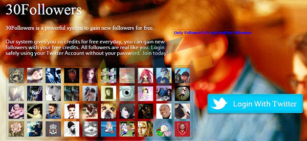 30followers increase twitter followers for free