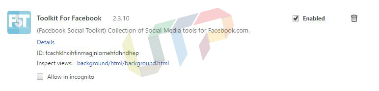 Facebook Toolkit Extension for Chrome