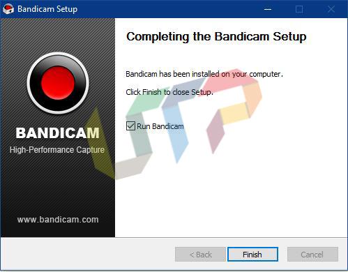 Finish Bandicam