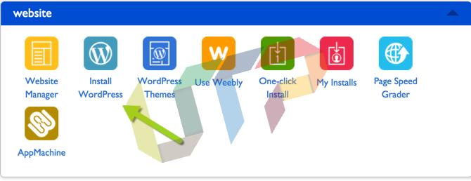 Install WordPress Website on Bluehost