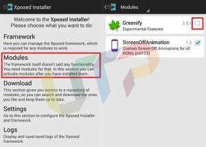 Free RAM via Greenify Android Xposed Installer