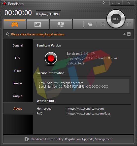 Bandicam v3.3.0.1174 Full Version