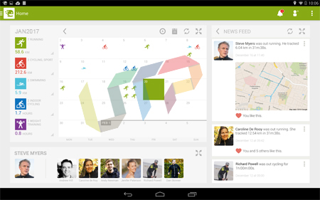 Endomondo Best Android App for Running, Cycling, And Walking