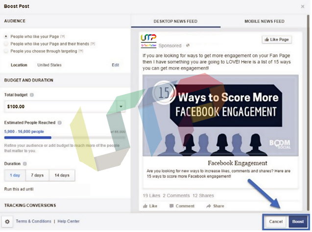 facebook ads to increase likes