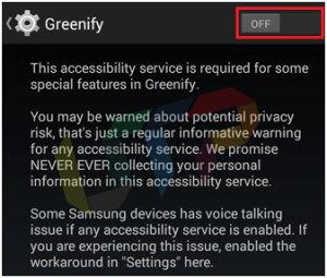 Greenify APK for Non-rooted Android Phone