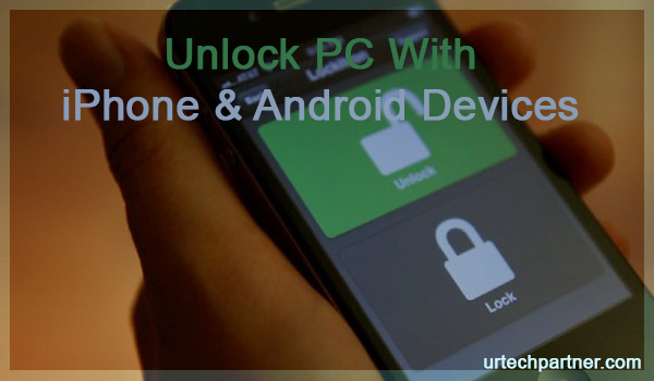 unlock computer via phone
