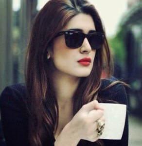 Girl Having Tea DP