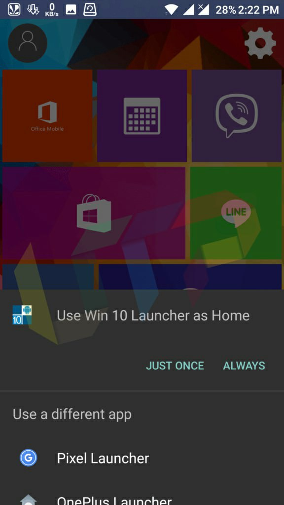 windows 10 launcher for android tablet