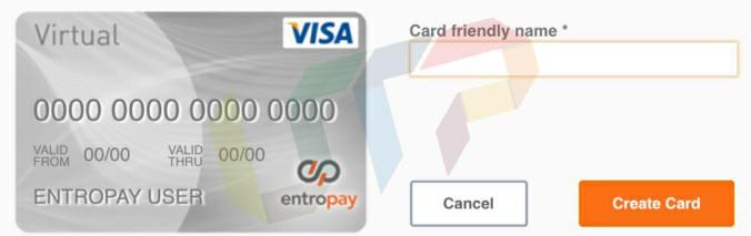 Virtual Debit Card Generator
